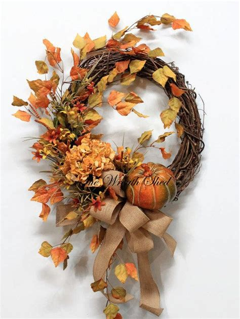 Handmade Fall Wreaths - 17 best images about handmade country farmhouse wreaths