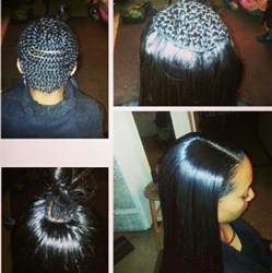 weave no leave out hairstyle brazillian full weave with minimal leave out weave hair hair
