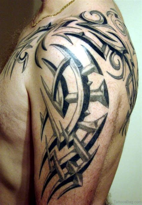 left shoulder tribal tattoo 78 brilliant celtic tattoos for shoulder
