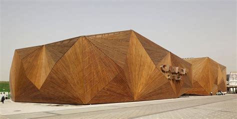 wood architecture geometric architecture is a work of modern