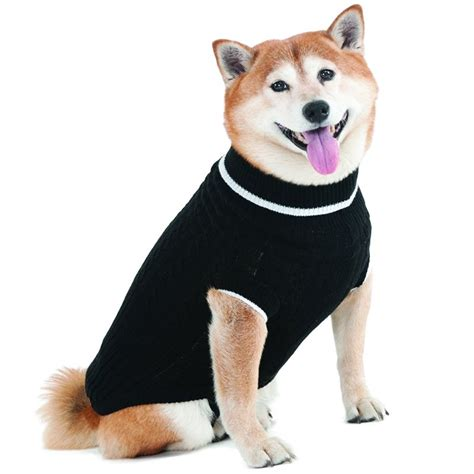 puppies in sweaters fashion pet fashion pet black cable knit sweater sweaters