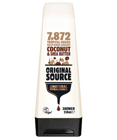 Coconut Vco Original 250 Ml Limited original source uk shower products