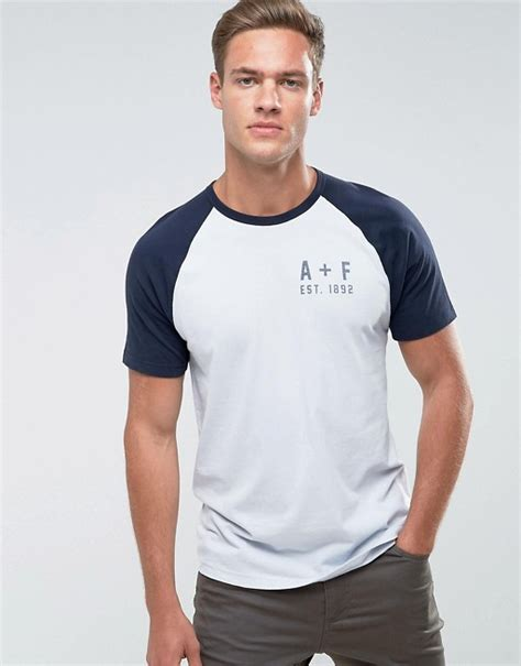 abercrombie fitch abercrombie fitch slim fit t shirt