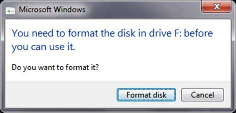 format flashdisk bermasalah tips mengatasi dan memperbaiki flashdisk minta format