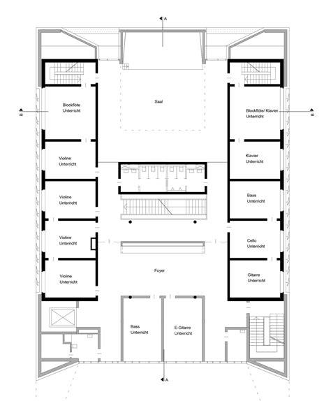 are house floor plans public record gallery of public music school wulf architekten 6