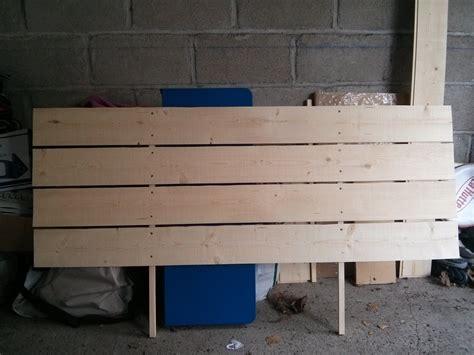tete de lit planche diy une t 234 te de lit avec des planches ralfred s