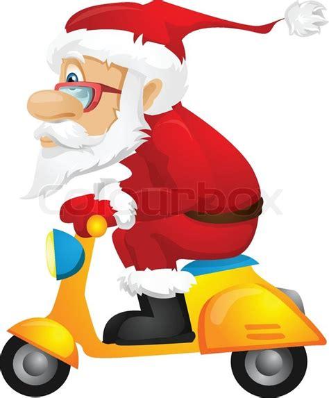 Motorrad Fahren Bergewicht by Weihnachtsmann Vektorgrafik Colourbox