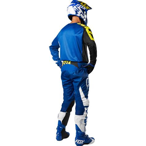 cing gear 2018 fox racing youth 180 race gear kit blue sixstar racing