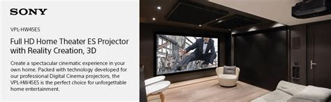 Sony Hw45es Home Hd Sxrd Home Chinema Projector sony vplhw45es 1080p 3d sxrd home theater gaming projector electronics