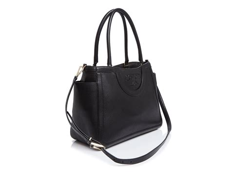 Diskon Burch T Satchel 1 burch serif t satchel in black lyst