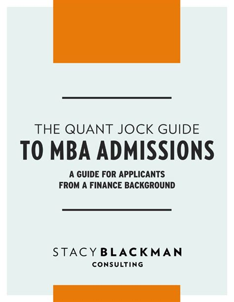 Is Mba Admission Consulting Worth It by Mba Quant Guide Blackman Consulting Mba