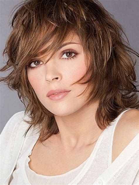 images of medium length shaggy hairstyles for 2017 hairstyles medium length shag hairstyles with ponytail