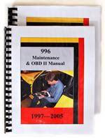Porsche 996 1999 2005 Tools Amp Books Books