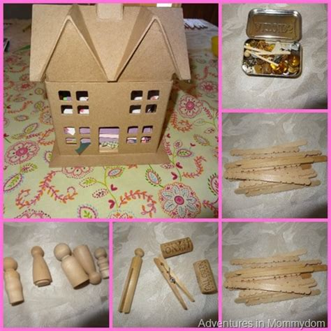 build your own doll house kits dollhouse kit present