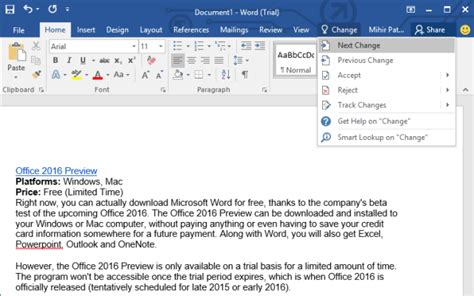 Ms Office 2015 This Is How You Can Get Microsoft Word For Free