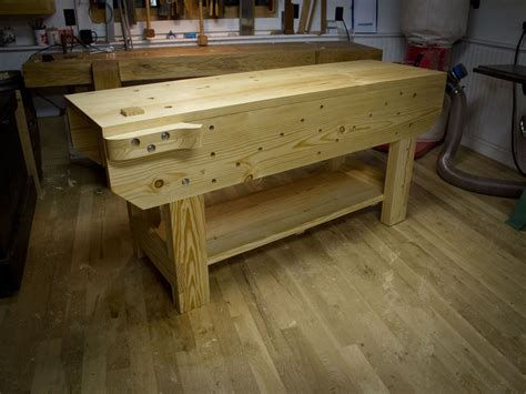 bench styles tool selection small lightweight woodworking bench