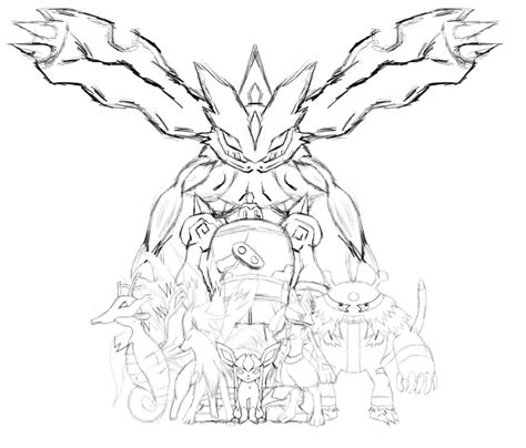www full pokemon xerneas coloring pages images pokemon images