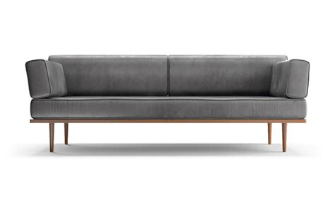howell sofa howell leather sofa by joybird