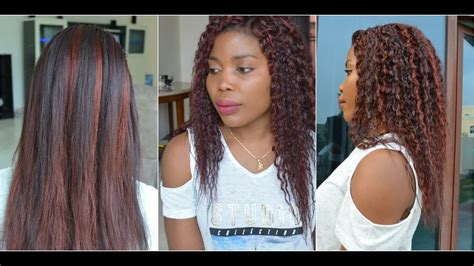 how to make kanekalon hair curly how to curly crochet braids with kanekalon hair
