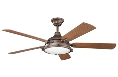 ceiling fans huntington beach kichler hatteras bay patio ceiling fan 310117wcp