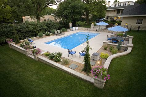 pool hardscape contemporary patio cincinnati by