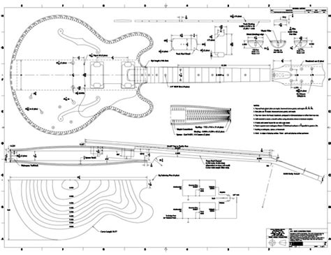 guitar design template free pdf guitar blueprints lutheria