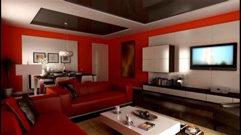 decoration salon avec canape rouge youtube