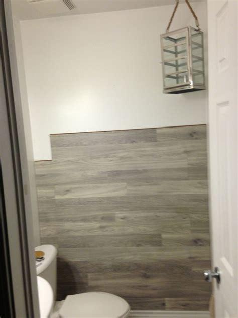 bored  floored laminate floor accent wall diy
