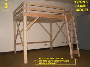 Bed Frame With Mattress For Sale Philippines Loft Bed Twin Full Queen King Amp Extra Long Loft Beds