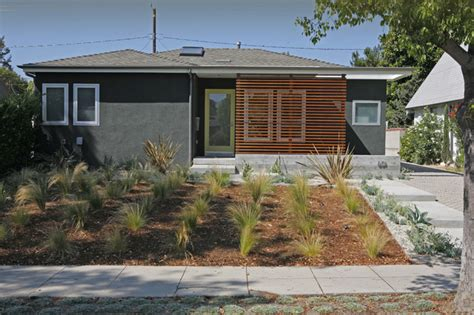 California Bungalow Renovation Home Design Decorating California Modern Entry Los Angeles By Ras