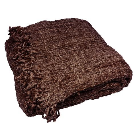 chenille throw blankets for sofa luxury chenille throw large warm thermal woven throw
