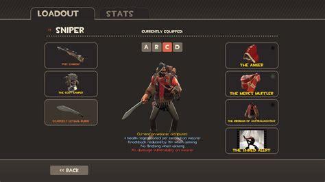 tf2 sniper loadout by zomg a dropbear on deviantart