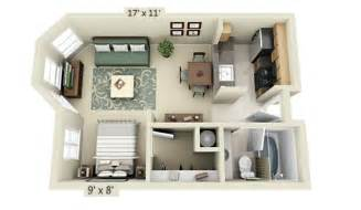Small Apartment Building Plans by Studio Apartment Floor Plans