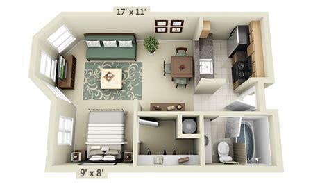 small apartment layout studio apartment floor plans