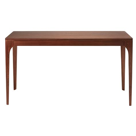 solid walnut console table solid walnut 1 drawer console table buckingam maisons du