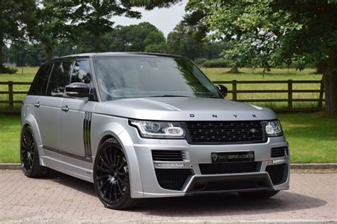 onyx range rover used land rover onyx concept aspen edition 50
