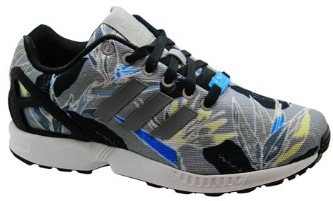 adidas originals zx flux mens trainers running shoes lace