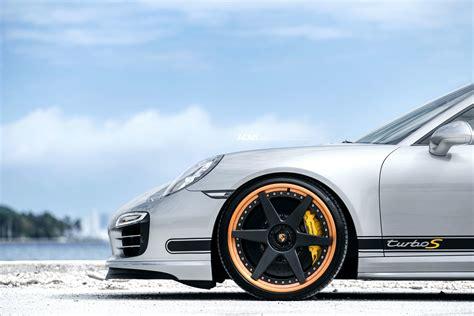 porsche turbo wheels black silver porsche 991 turbo s adv6 track spec standard
