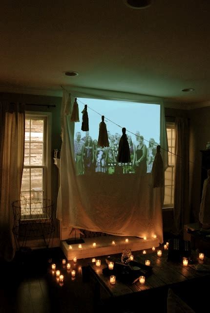 Proyektor Lover 4 the tealights and we always projector
