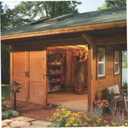 Rustic Shed Plans by Deluxe Rustic Yard Shed Plans