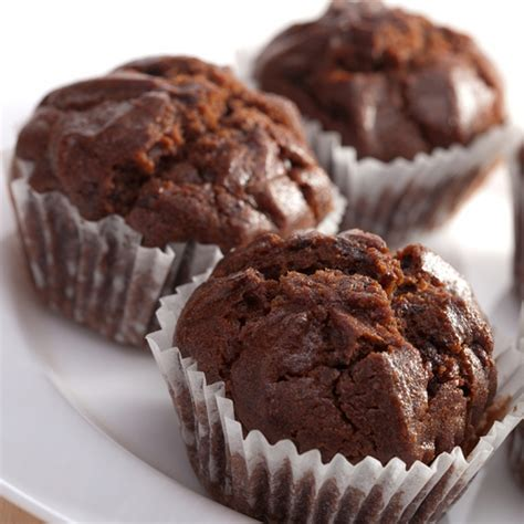 easy chocolate muffins recipe