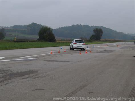 Motorrad Fahrsicherheitstraining Vw by Pa102631 Gti Fahrsicherheitstraining Vw Golf Vi Gti