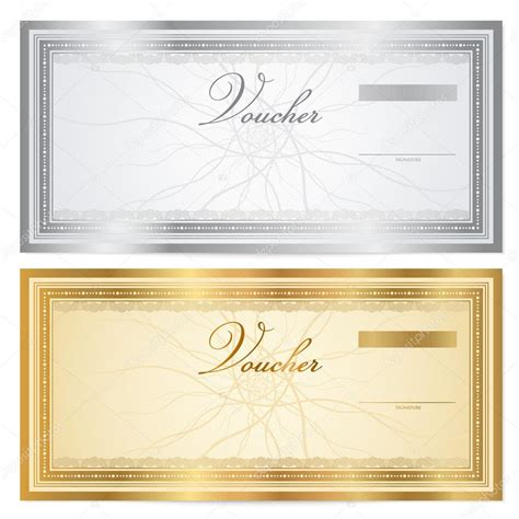 cheque voucher template voucher template with guilloche pattern watermarks and