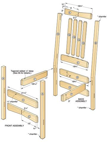 Wooden Chair Blueprints by Plans For Wood Chair Pdf Woodworking