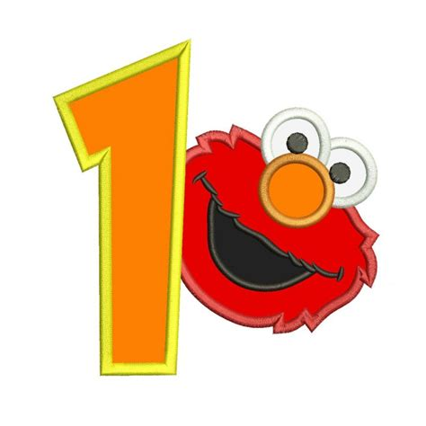 elmo applique sesame the muppets applique designs