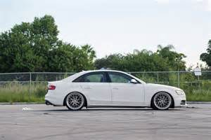 ibis white audi b8 s4 gets a set of directional wheels