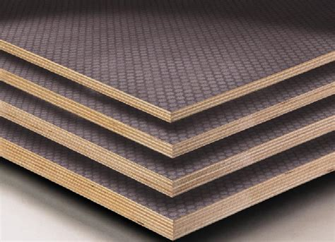 decorative l hs code anti slip film faced shuttering plywood packing export