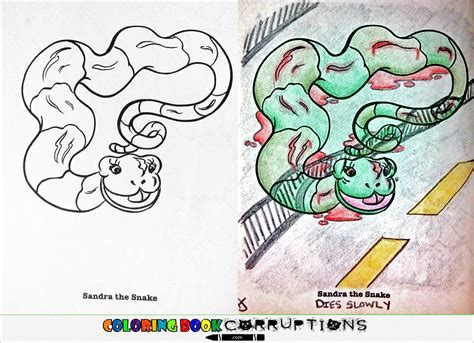 Car Coloring Book Corruptions