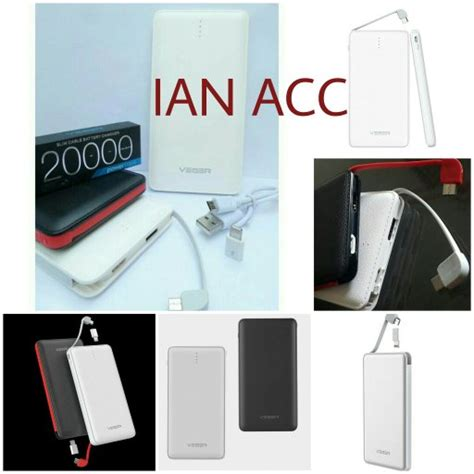 Power Bank Veger 20000mah jual power bank veger 20000mah original di lapak ian acc nisyakamila