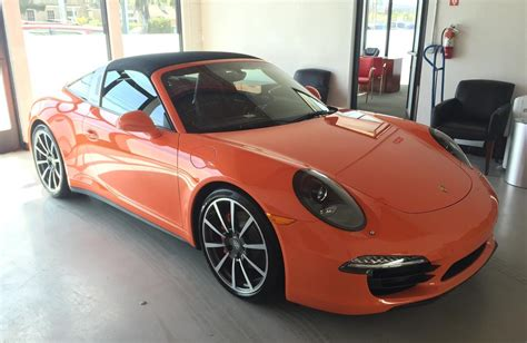 orange porsche targa lava orange targa in san francisco rennlist discussion